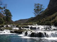 Waterfalls in Nor-Yauyos Cochas Reserve